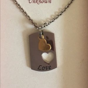 Jewelry - necklace stainless steel NWOT
